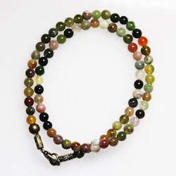 Mix Agate Double Bracelet (Small Beads)