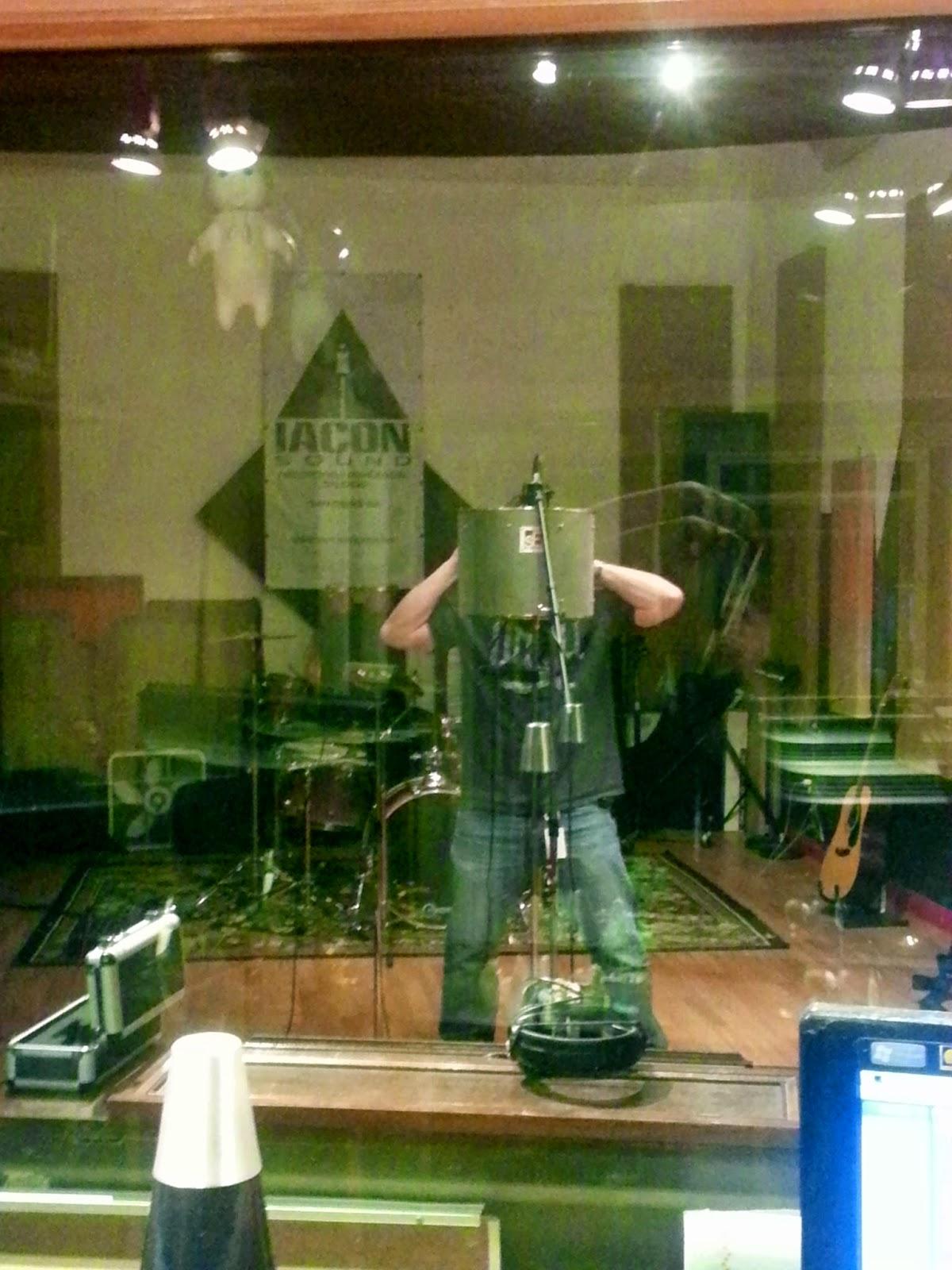 Trenton Blizzard - Tracking Vocals at Iacon Sound Studio - San Diego