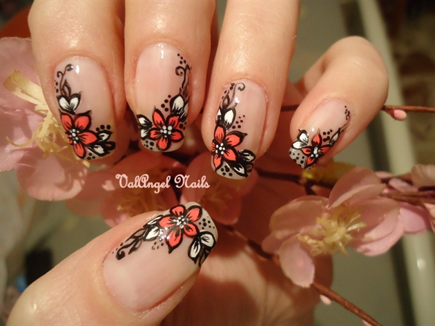 Nail art designs trends for short amp long nails 2013 fashion photos