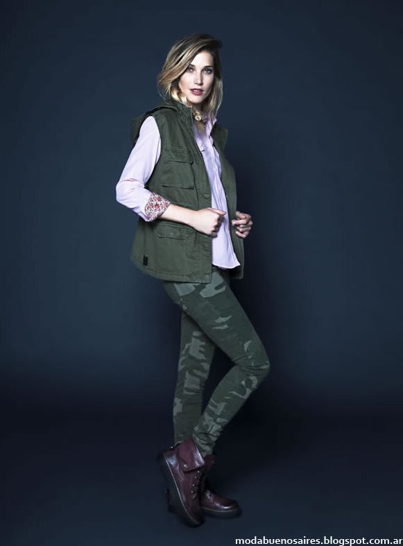 Moda invierno 2014 Kevingston Mujer moda mujer looks invienro 2014