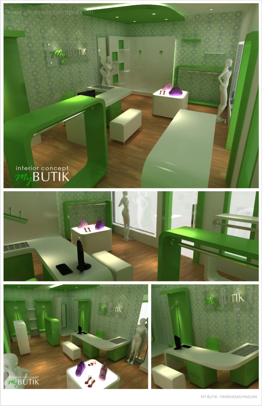 DESAIN INTERIOR MY BUTIK