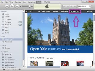 Hướng dẫn sử dụng iTunes U