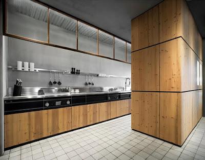 moderna cocina elegante