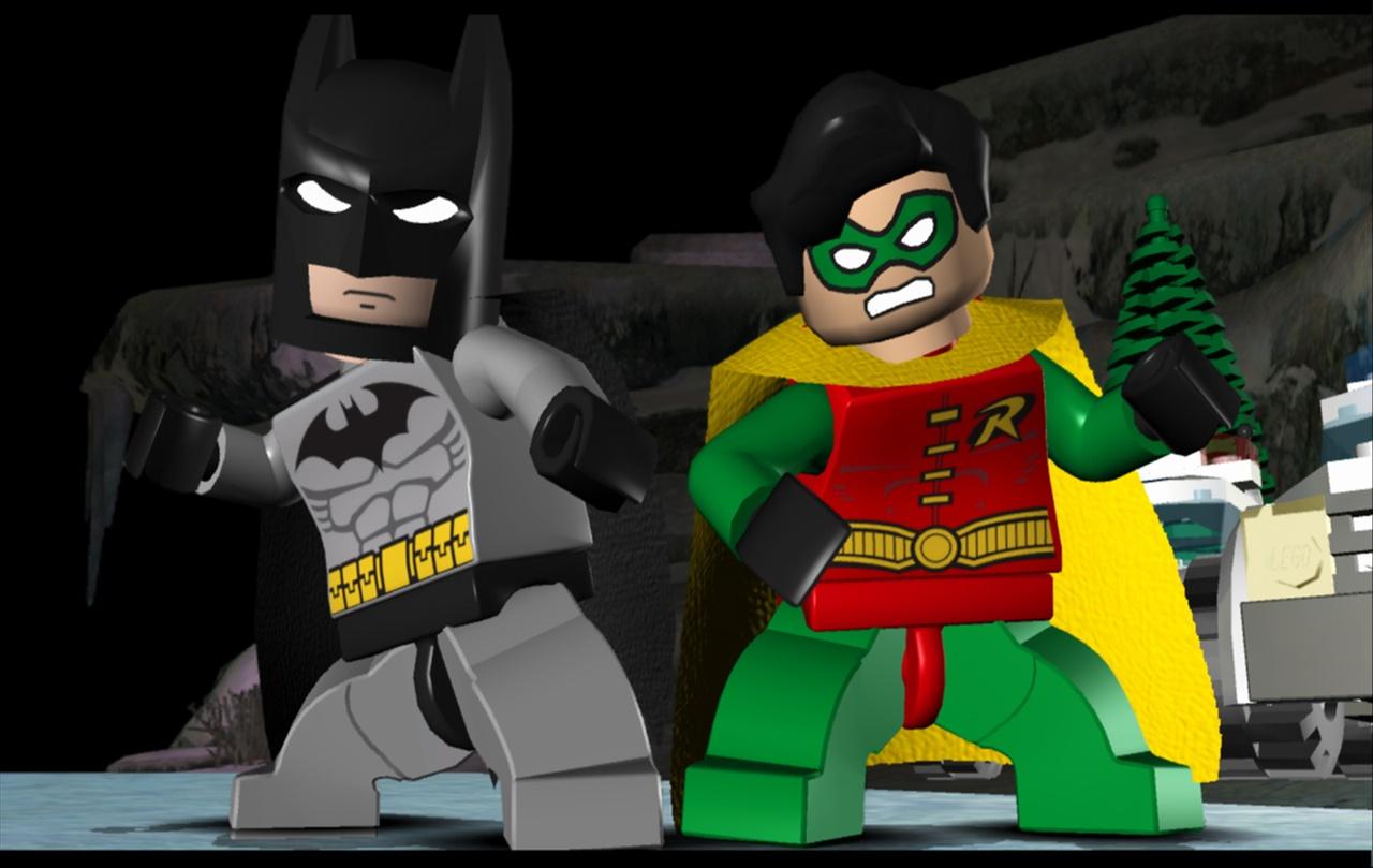 Leaves of lorian robin for Videos de lego batman