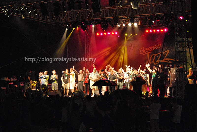 Closing of Borneo Jazz 2013