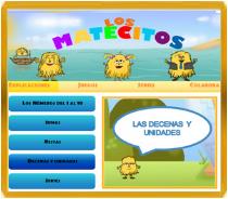 LOS MATECITOS: ACTIVIDADES  DE MATEMÁTICAS