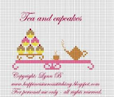 Tea and cupcake freebie