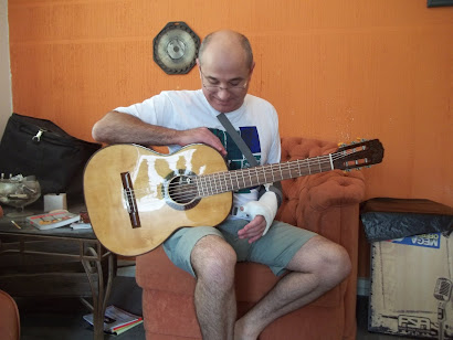 Restauração completa do violão Giannini