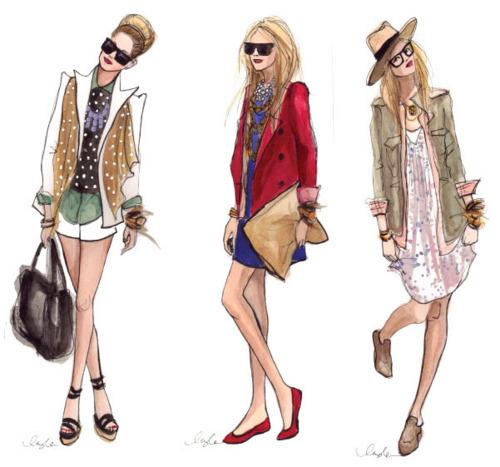 Ensayos La Perspectiva En El Dise O De Modas