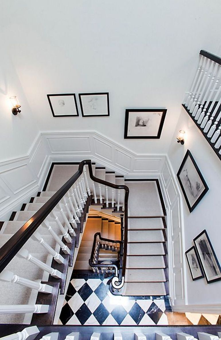 Antic chic decoraci n vintage y eco chic get the look for Como decorar la pared de una escalera