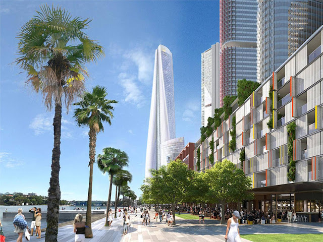 04 Crown Sydney Hotel Resort por Wilkinson Eyre