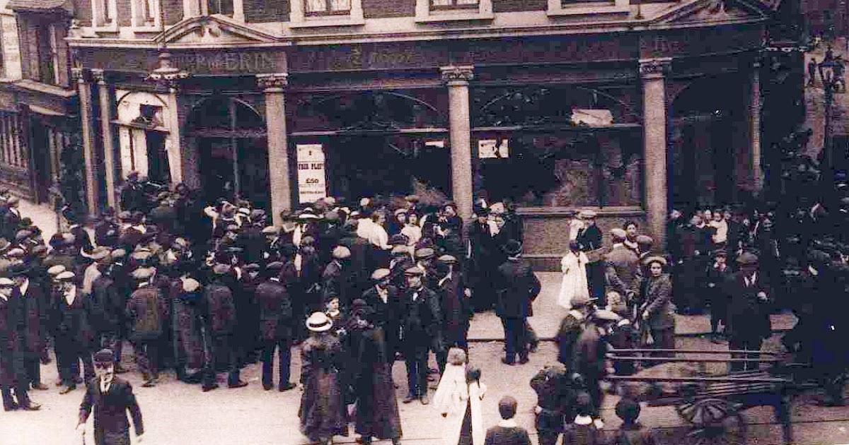 old deptford history harp of erin tavern attack 1914. Black Bedroom Furniture Sets. Home Design Ideas