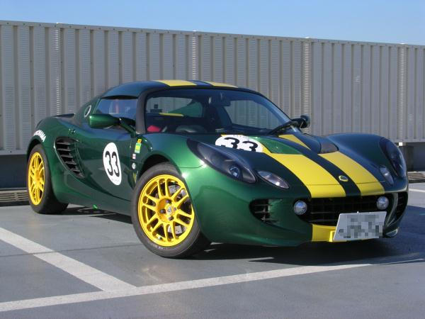 The Lotus Elise is a two seat,