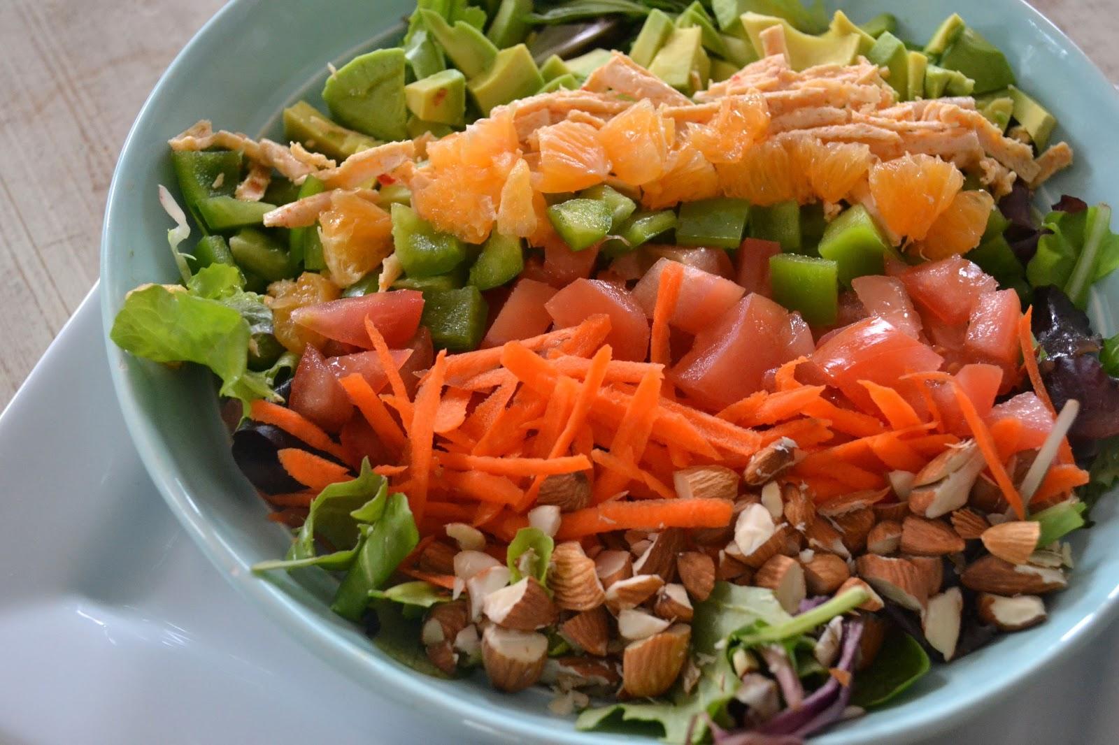 Kirsten's Kitchen: of vegan creations: Cobb salad { vegan }