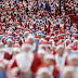 Race Santa Claus in Liverpool
