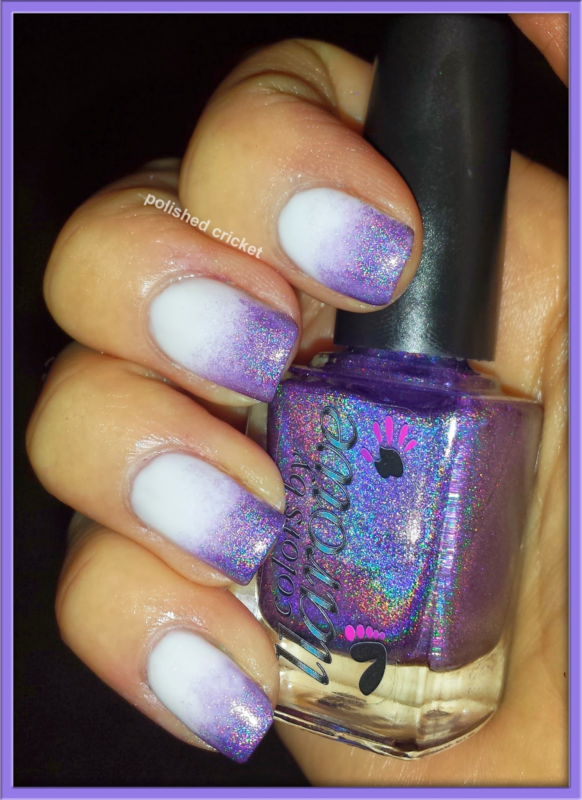 colors by llarowe coconut and paper moon chevron nail art the