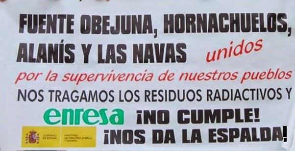 ENRESA ¡ NO CUMPLE !!