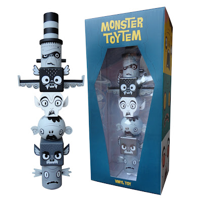 Grayscale Classic Edition Monster Toytem Vinyl Figure by Gary Ham