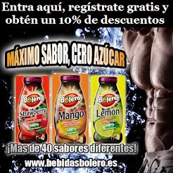 Las Bebidas Bolero son elaboradas sin azúcar, sin gluten y bajas en calorias