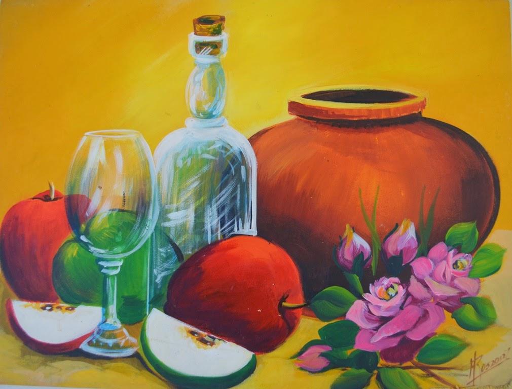 Pintura moderna y fotograf a art stica bodeg n f cil de - Cuadros bodegones modernos ...