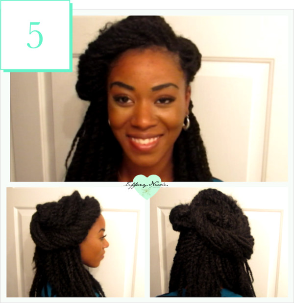 Senegalese Twists with Marley Hair