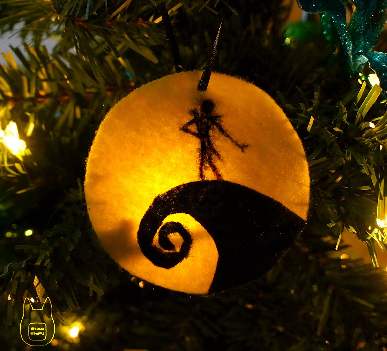Otaku Crafts: Nightmare Before Christmas Ornament