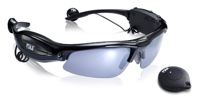 Graba video con las gafas de sol: Naical UN Hawkeye