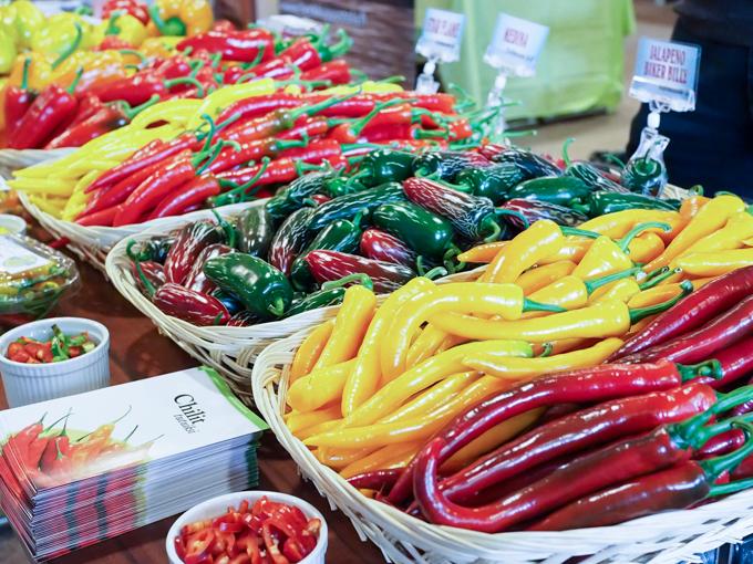 heinän puutarha chilit monipuolinen valikoima