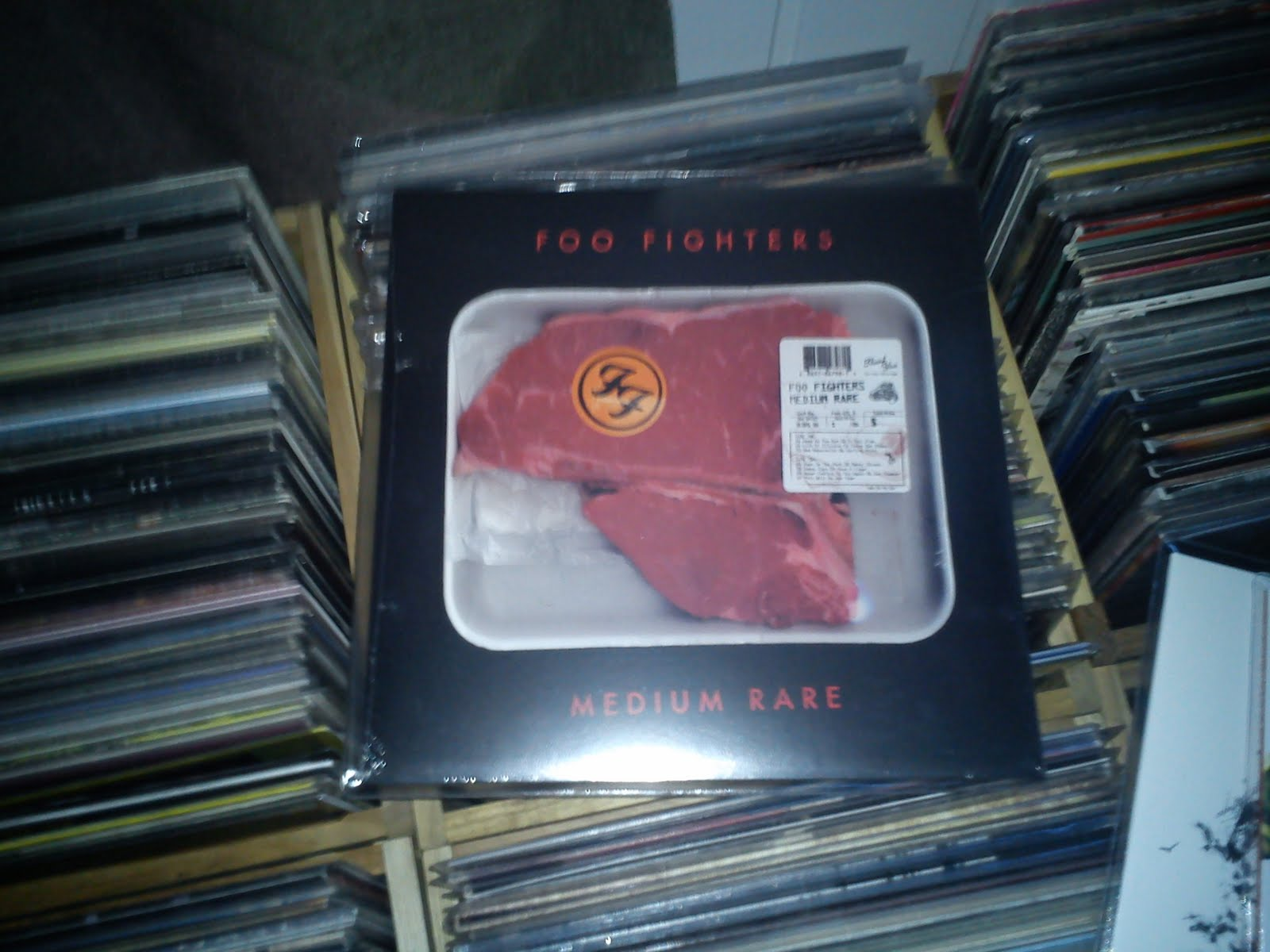 Record Collecting Foo Fighters