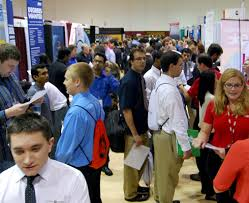 what is a career fair like