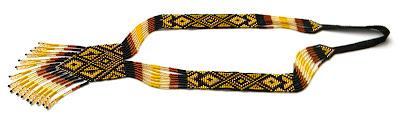 гердан гайтан купить украшение этнический аксессуар loom beading Anabel