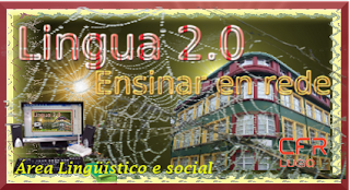 Cartel curso Lingua 2.0. Ensinar en rede