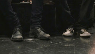 Greyson Chance Foot Feet (L) and Hayden (R) Rolling in the Deep