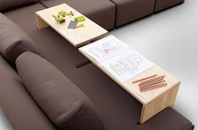 Sofa dengan Meja Portable 6