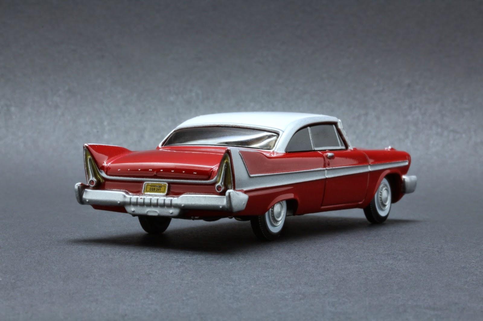 Diecast Hobbist 1958 Plymouth Fury Christine