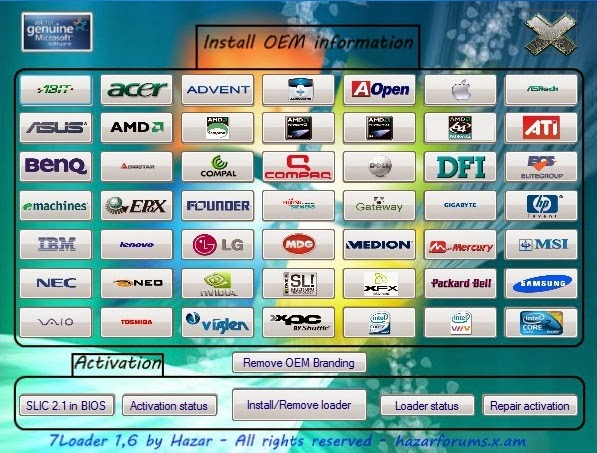 Download Manufacture Windows 7