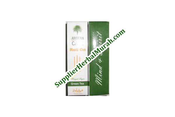 Minyak Angin Aromatherapy Arofah Care - Green Tea