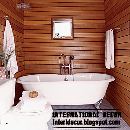 Home Exterior Designs: Best 15 Wooden Bathroom Decorating Ideas