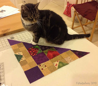 Cat with Easy Street Quilt Part 7