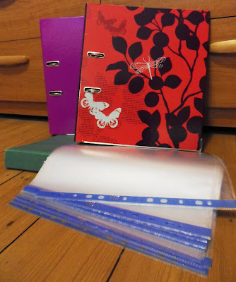 Stationery folders and inserts