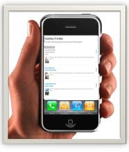 BROWSING MELALUI HANDPHONE (MOBILE VERSION)