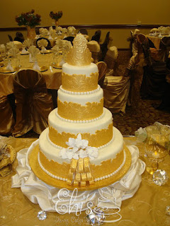 KERRY VINCENT Inspired Wedding Cake