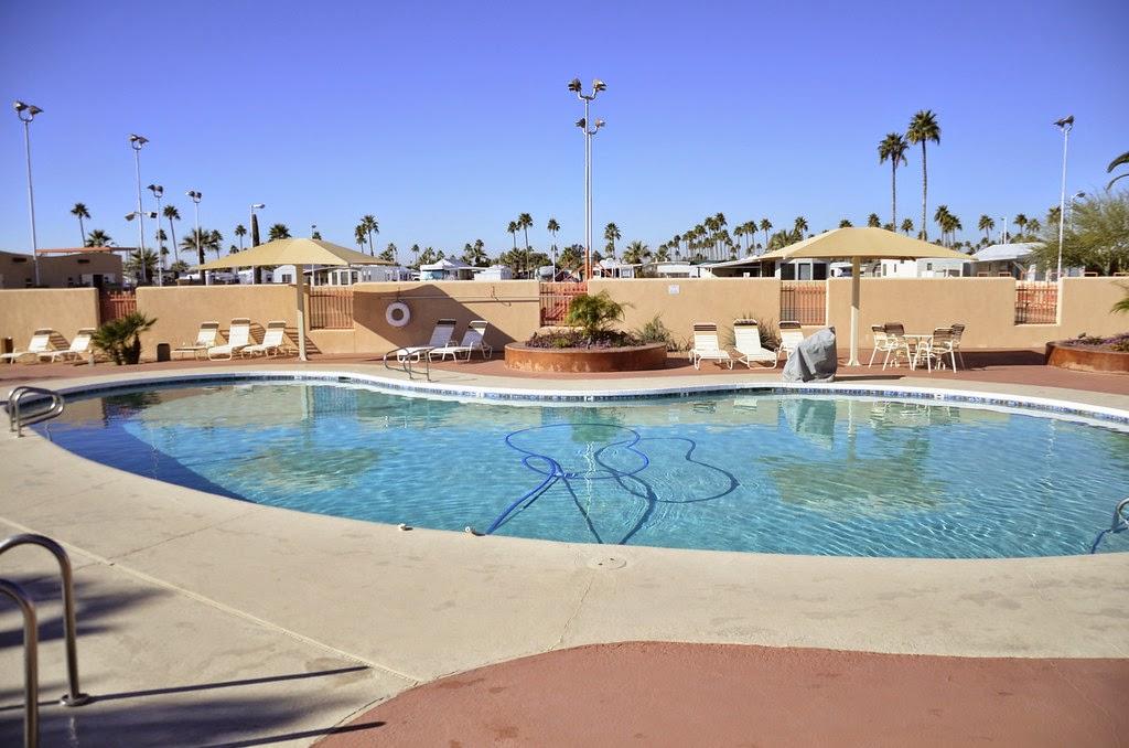 Passport america site seers mesa spirit an encore rv for Indoor pool mesa az