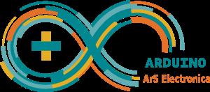 Logo de Arduino en ArS Electronica