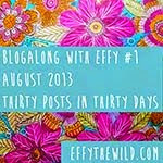 Join in Effy's blogalong