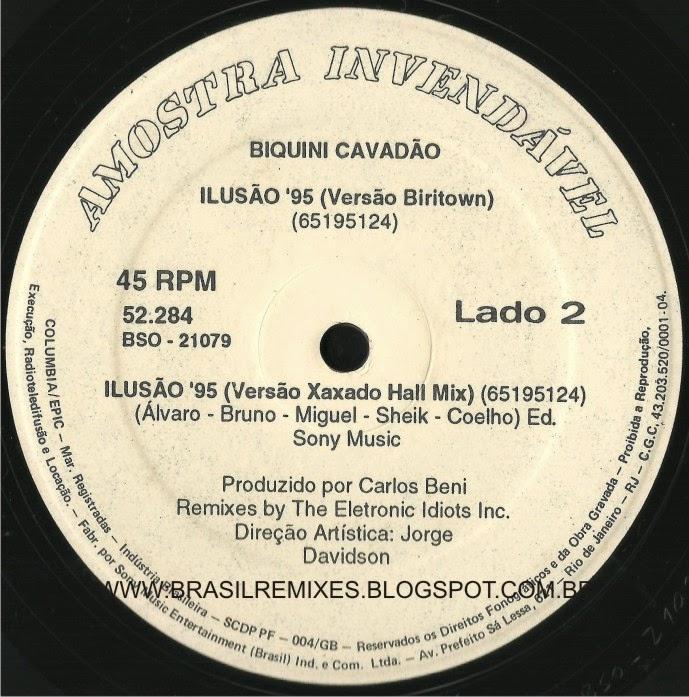 Biquini Cavadão - Ilusão '95