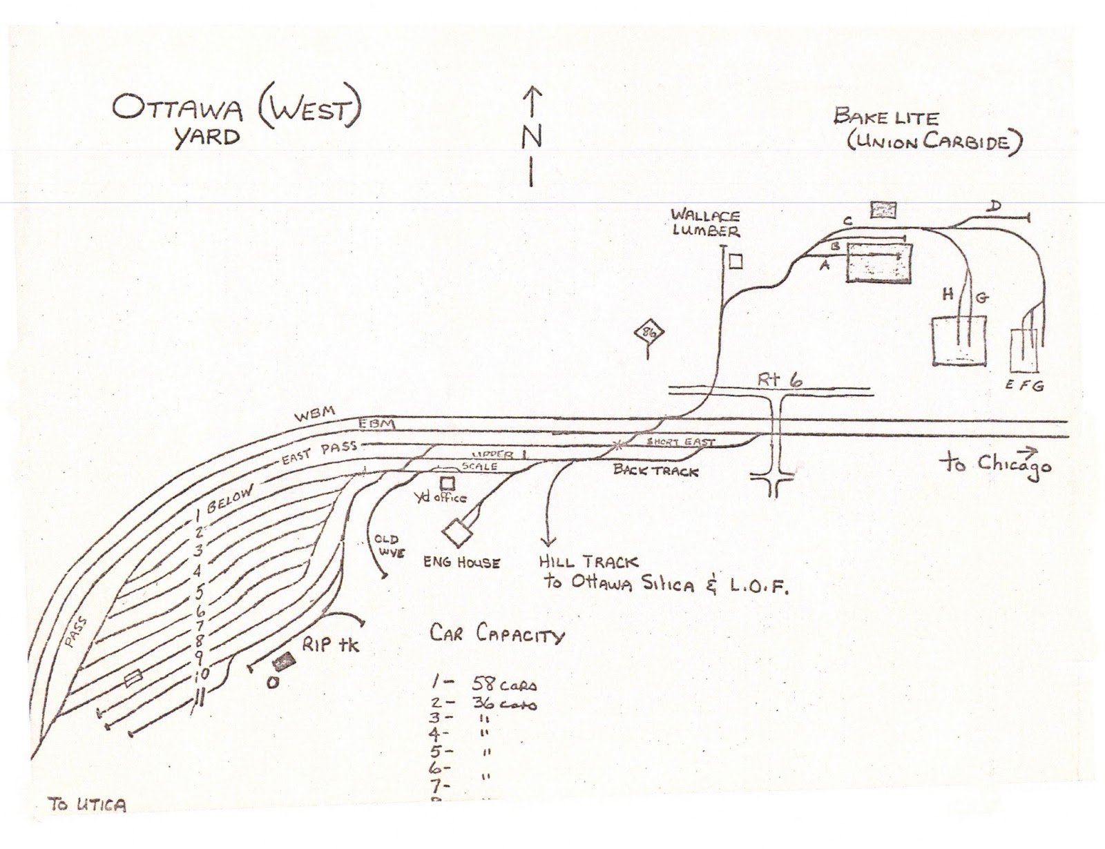 The Rock Island  Ottawa Sands In N Scale  The Rock 3 0  Illinois Division Track Diagrams