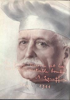 Ünlü Şef  Georges Auguste Escoffier