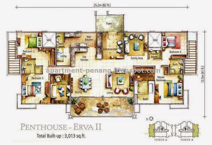 Alila Horizons Apartment Penang Com