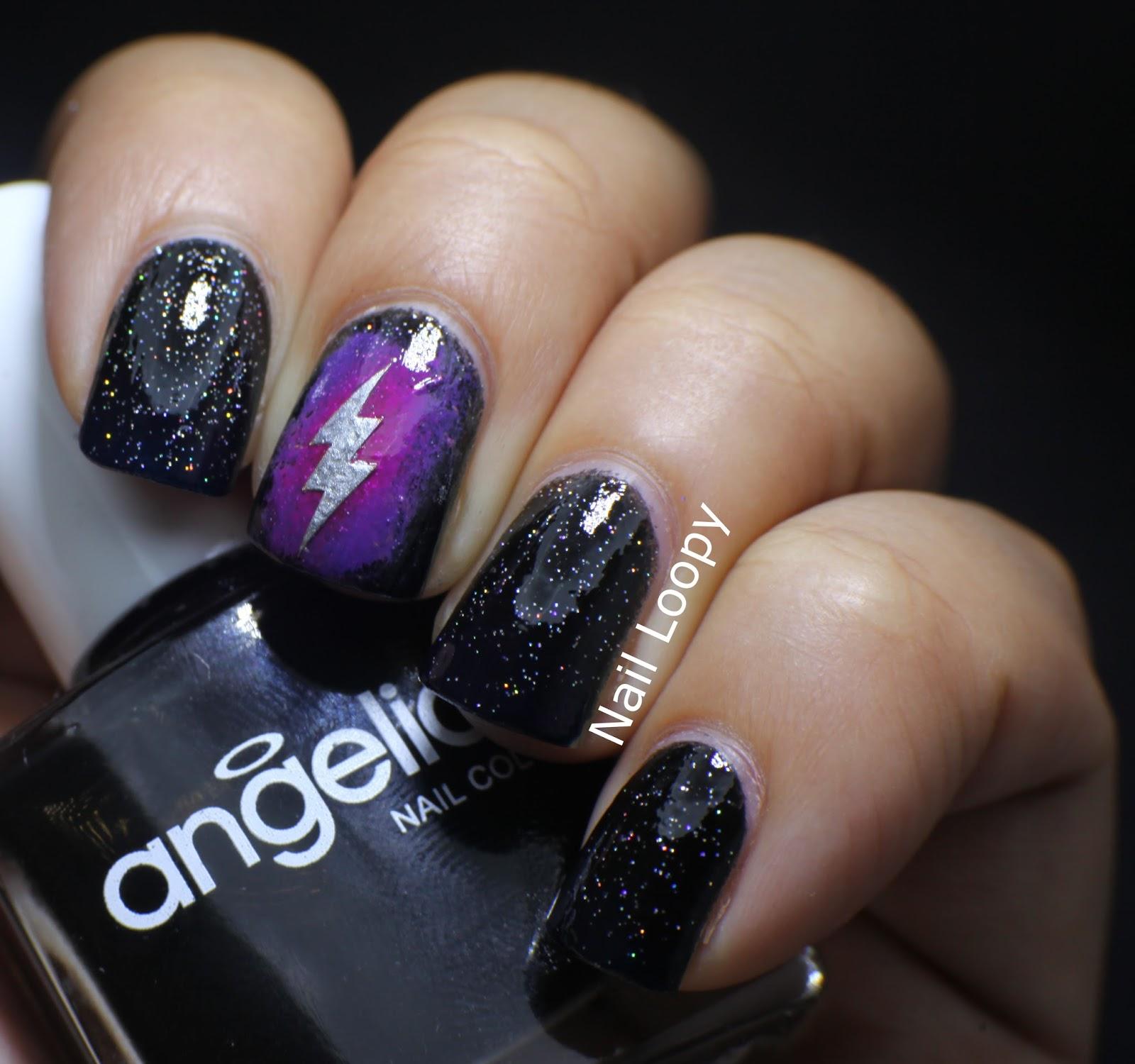 Nail Loopy Lightning Nails Pin It Prinsesfo Gallery